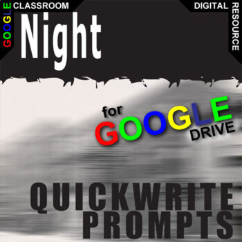 NIGHT Journal - Quickwrite Writing Prompts (Created for Digital)