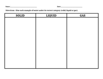 NJ APA Assessment Science - Solid, Liquid Gas (CPI 5.6.4A3