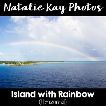 NK Photos - Island with Rainbow
