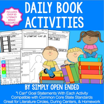 FREE READING RESPONSE Weekly Activities, Homework, Literat