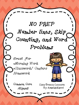 NO PREP Addition, Subtraction, Skip Counting, and Word Problems