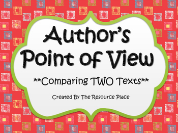 NO PREP Author's Point of View