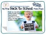 Back To School Photo Props {No Prep}