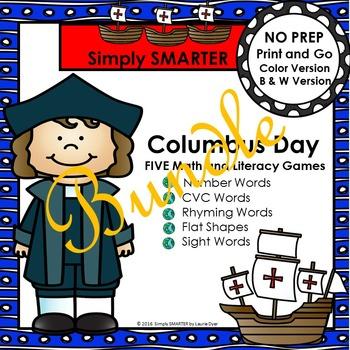 NO PREP Columbus Day Games Bundle