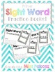 NO PREP Interactive Sight Word Practice Book - THEY