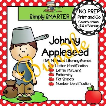 NO PREP Johnny Appleseed Games Bundle