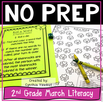 NO PREP! LITERACY Centers for March {2ndGrade}