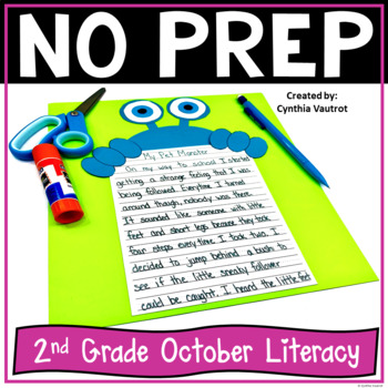 NO PREP! LITERACY Centers for October {2ndGrade}