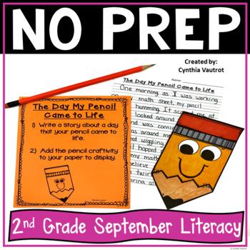 NO PREP! LITERACY Centers for September {2ndGrade}