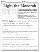 NO PREP Literacy Printables - December