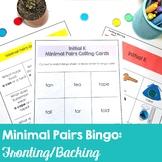 Low Prep Minimal Pairs Bingo for Fronting/Backing