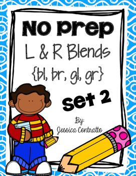 NO PREP Mixed L and R Blends 2