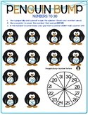 NO PREP- THREE Winter Math Games- Forward/Backward/Numeral