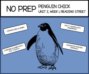 NO PREP - Penguin Chick - Reading Street Week's Worth of Lessons