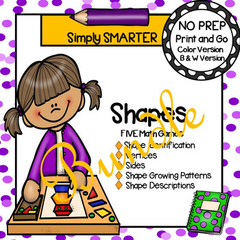 NO PREP Shape Games Bundle