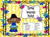 NO PREP Spring Language Packet