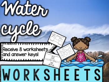 Water Cycle Worksheets & Printables