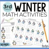NO PREP Winter Math Activities