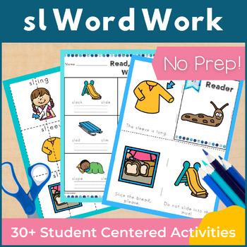 Word Work sl L Blends NO PREP