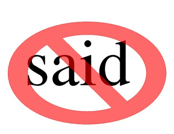 NO SAID sign