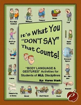 "NON VERBAL COMMUNICATION: ""Read Body Language/Gesture/Faci"