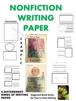 NONFICTION WRITING PAPER
