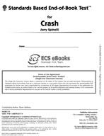 Standards Based End-of-Book Test for Crash