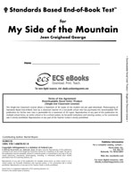Standards Based End-of-Book Test for My Side of the Mountain