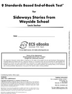 Standards Based End-of-Book Test for Sideways Stories From
