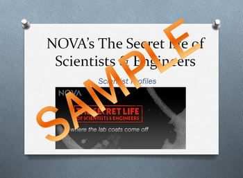 NOVA's Secret Life of Scientists and Engineers Writing Prompts