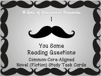 NOVEL STUDY (READING LITERATURE) ANALYSIS TASK CARDS Commo