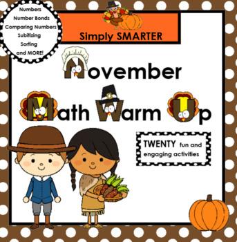 NOVEMBER MATH WARM UP