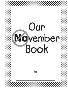 NOvember-YESember Class Books and Poem Freebie