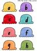 NSW Font Alphabet Match Game (Ice Cream Cones)