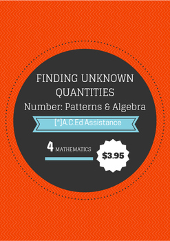 NUMBER AND ALGEBRA YEAR 4