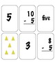 NUMBER MEMORY GAME CARDS
