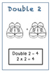 NUMBER FACTS - DOUBLES to 24 - WORKBOOK (50p) + 2 GAMES