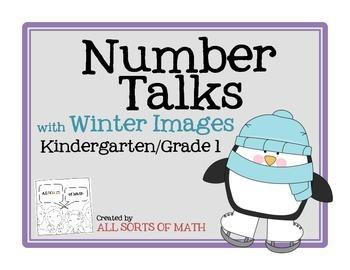 NUMBER TALKS with Winter Images (Kinder/1st)