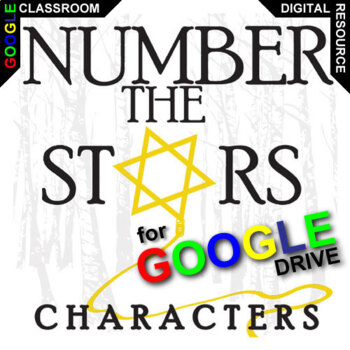 NUMBER THE STARS Characters Organizer (Created for Digital)
