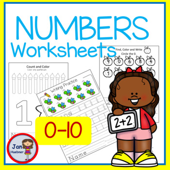 NUMBERS REALLY COUNT Practice 0-10