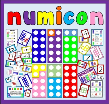 NUMICON - NUMBERS RESOURCES EYFS KS1 ADDITION NUMERACY MATHS