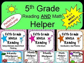 NWEA- Fifth  Grade Helper- MEGA BUNDLE