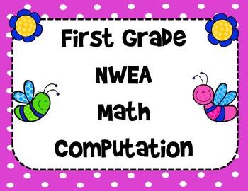NWEA- First Grade Helper- Computation Section