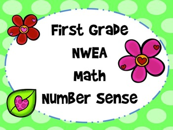 NWEA- First Grade Helper-Number Sense Section