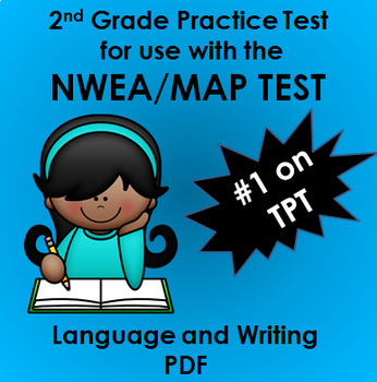 NWEA MAP Language and Writing Practice Test w/90+ spelling