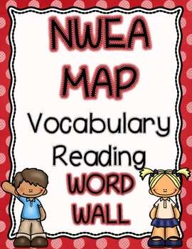 NWEA MAP Reading Academic Vocabulary Word Wall RIT 141-250