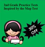 NWEA MAP 2nd Grade Mega Bundle.Reading and Math! 6 PDF Pra