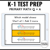 NWEA MAP Testing Practice Primary Math Question and Answer Pages