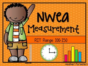 NWEA Map Test Measurement RIT 100-150