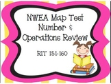 NWEA Map Test Number & Operations Review RIT 151-160